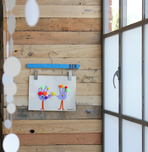 15 Ways To Display Kids Artwork In Your Home Organised